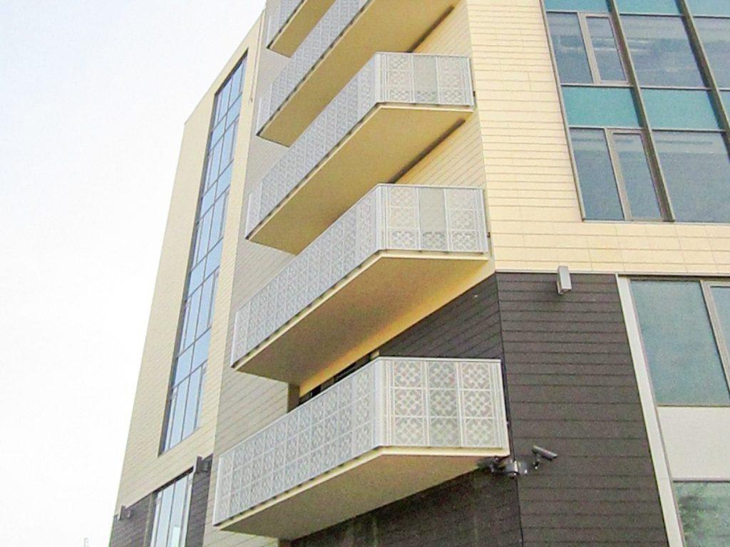 RED Balustrada balcon tabla perforata 02