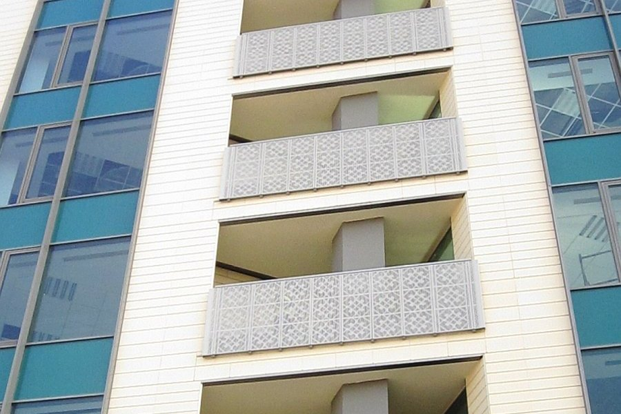 RED Balustrade balcon