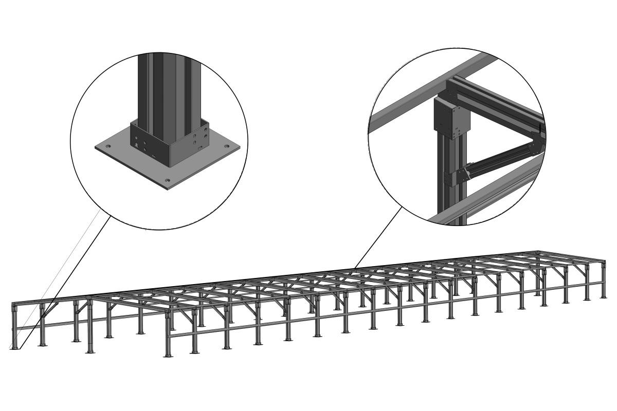 RED Structura sera metalica 03